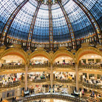 Galerie Lafayette Haussmann - Dôme