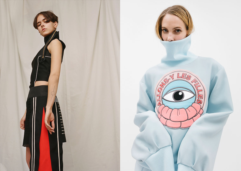Nina Echo / Designer : Francesca Mohana Calignano / Yang Xi / Designer : Yang Xi ; Photo : Huanfa Chen